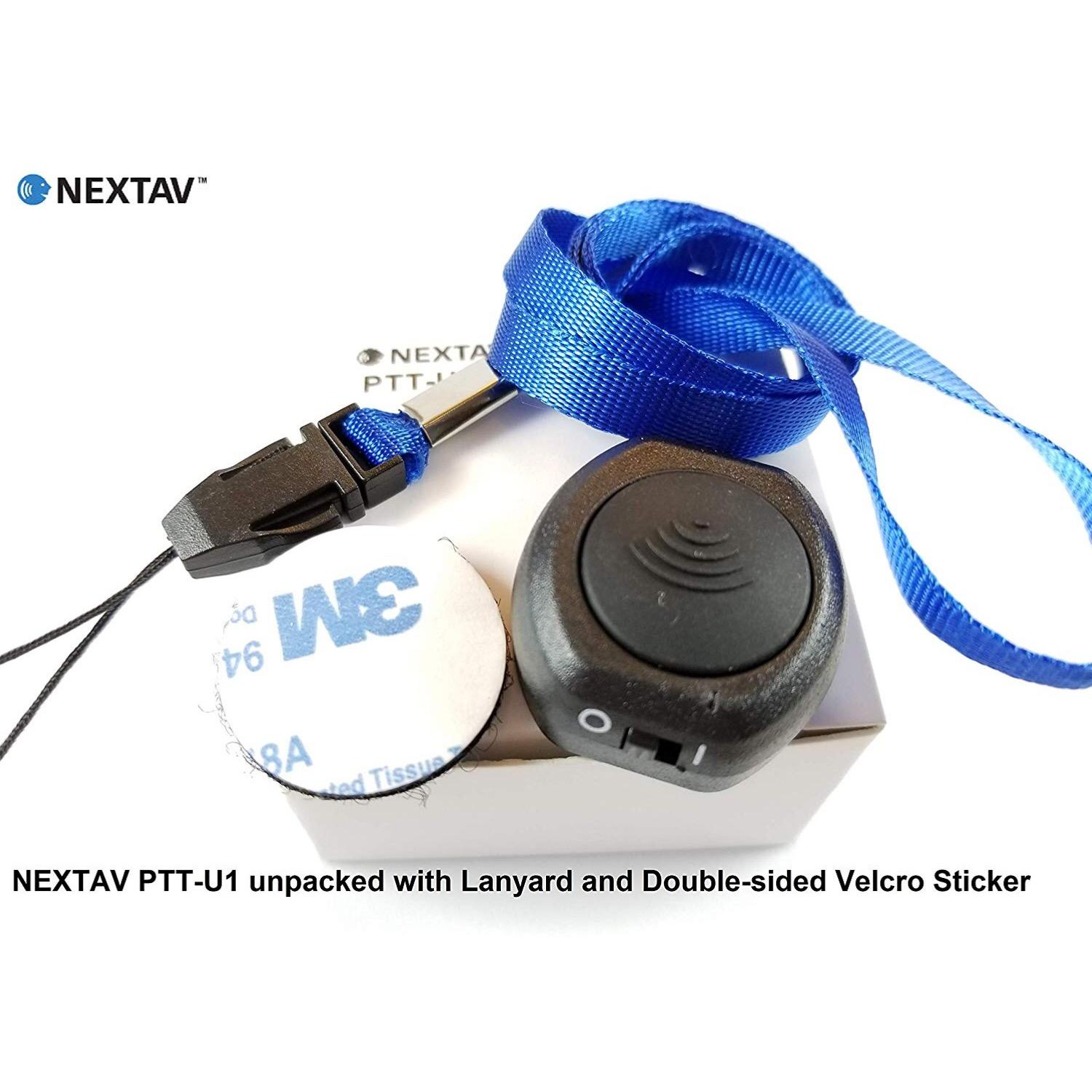 NEXTAV U1-Z Bluetooth 4.0 Wireless PTT Button Image